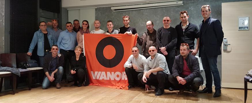 l'équipe Vianor